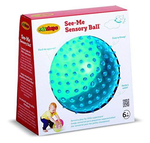 Edushape Sensory See-Me Ball, 7 Inch, Colors May Vary
