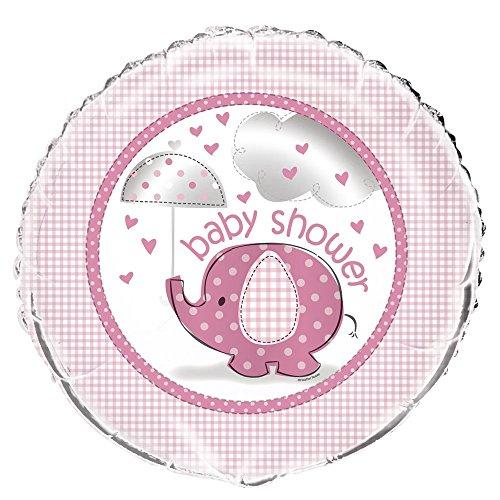 45,7 cm folie roze olifant baby douche helium ballon