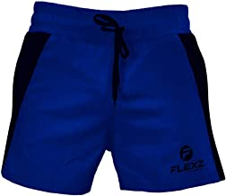 Flexz Fitness Men's Gym and Running Shorts - Crossfit, Boxing and Work Out Short Shorts for Men