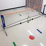 DXY 3,1 * 1,5 m tragbares verstellbares Badminton-Volleyballnetz mit Ständern 3,1 * 0,9 m klappbares Tennisnetz im Freien mit Rahmen F2034