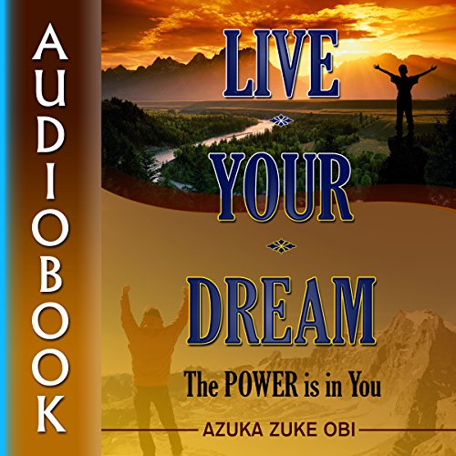 Live Your Dream audiobook cover art