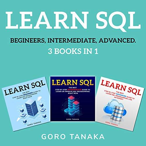 Learn SQL 3 in 1 cover art