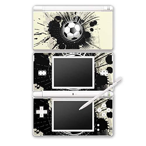 DeinDesign Skin kompatibel mit Nintendo DS Lite Folie Sticker Fußball Graffiti Sport