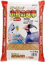 NPF ナチュラルペットフーズ エクセルおいしい小鳥の食事 皮付き 3.8kg