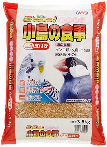 NPF Natural Pet Foods Excel Delicious Birds Meal with Leather, 8.4 lbs (3.8 kg)
