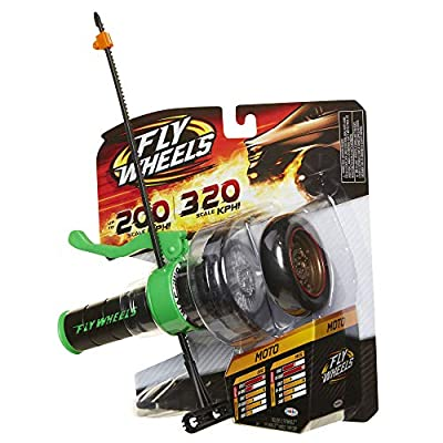 Fly Wheels Launcher + 2 Moto Wheels - Rip it up to 200 Scale MPH, Fast Speed, Amazing Stunts & Jumps up to 30 feet! from Fly Wheels