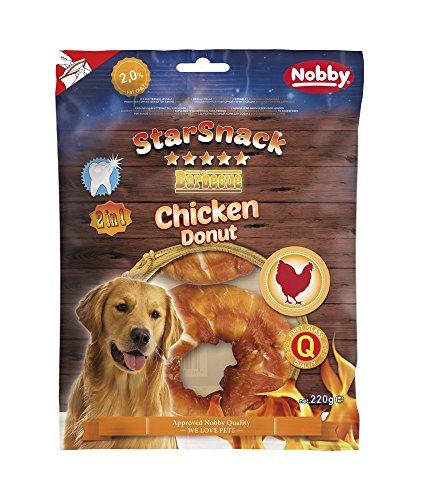 Nobby STARSNACK Barbecue Chicken Donut ca. 10,0 cm, 2 St., ca. 220 g
