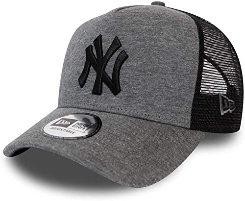 New Era New York Yankees MLB Cap New Era Trucker Baseball Verstellber Kappe Grau - One-Size