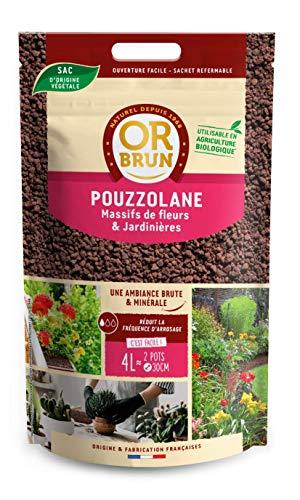 Or Brun, Pouzzolane, paillage, 4 litres