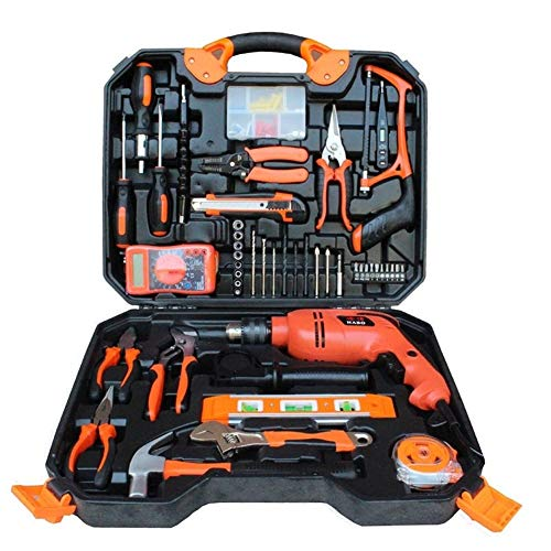 Repair Device 120Pcs Galvanising Impact Drill Wood Functional Set Multifunctional Maintenance Tools Hand Tools