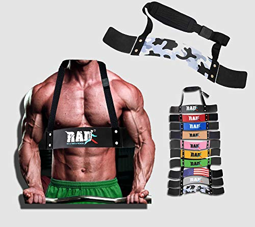 RAD Heavy Duty Arm Blaster for Biceps amp Triceps Strength Training Arm Machines Isolator for Big Arms Bodybuilding amp Weight Lifting