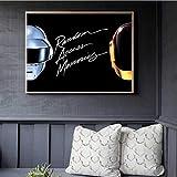 yuyu-beautiful Daft Punk Helm Maske Musik Poster Und Drucke