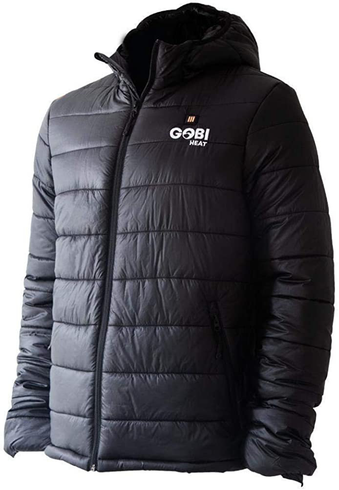 Nomad Men's Heated Jacket - 9 hrs of Heat | with Battery & Charger | Machine Washable