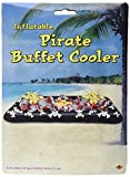Beistle Inflatable Pirate Buffet Cooler, 28-Inch by 4-Feet 53/4-Inch