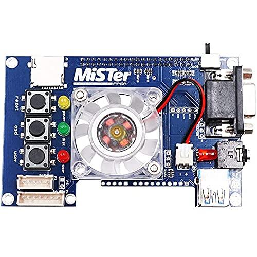 Zayaa Placa de Soldadura Manual Mister USB Hub V2.1 para Mister FPGA 7 Puertos USB Juego de Placa IO para Accesorios Terasic DE10-Nano