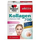 [page_title]-Doppelherz Kollagen 700 mit Hyaluron + Q10 / Nahrungsergänzungsmittel mit Biotin für den Erhalt normaler Haut und Mangan zur Unterstützung der normalen Bindegewebsbildung / 1 x 30 Kapseln