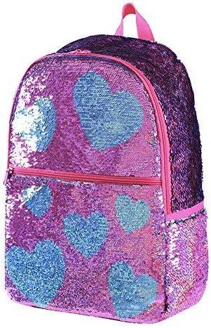 Sequin backpack Reverse Sequin Glitter Backpacks Kids Girls Magic Back packs Mermaid Flip Sequence Holographic Book Bags