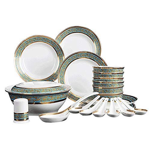 YLJYJ Keramik-Teller-Backform Keramik-Teller, Keramik-Binaural-Mikrowellen-Spezialbackform, Käse gebackene Reisschale Ei-Vanillepudding-Schüssel Baki