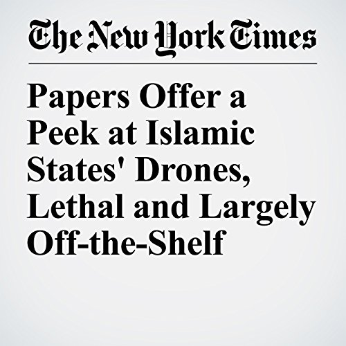 Papers Offer a Peek at Islamic States' Drones, Lethal and Largely Off-the-Shelf copertina