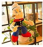 HOOPOO Plüschtier 55cm Popeye Plüsch-Spielzeug-Puppe Kind Niedlich Persönlichkeit Ragdoll...