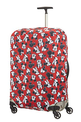 Samsonite Global Travel Accessories Disney - Coperture in Lycra per Valigia, L, Rosso (Mickey/Minnie Red)