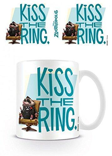 1art1 Zoomania - Kiss The Ring Foto-Tasse Kaffeetasse 9 x 8 cm