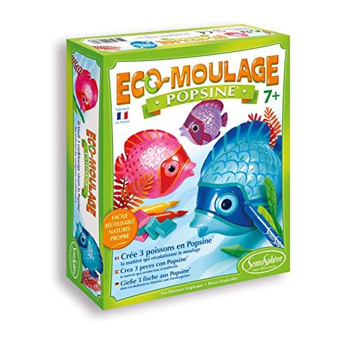 Sentosphere Sentosphère 2662Freizeit Stickermaschine–eco-moulage–popsine: Die Fische tropischer