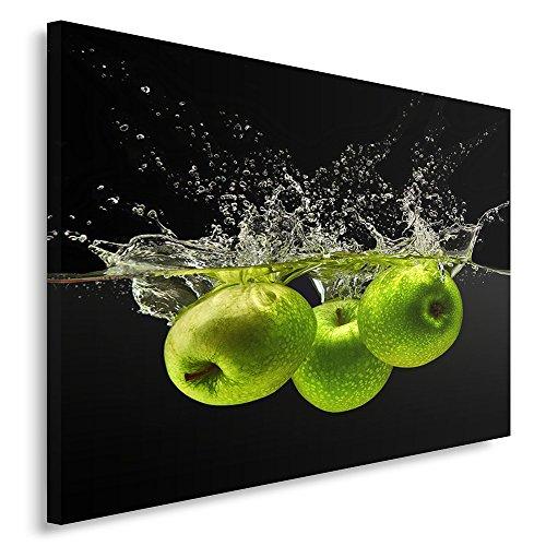 Feeby Image sur m/étal Citron Boisson Mojito Photo D/écoration Cuisine Vert 30x30 cm