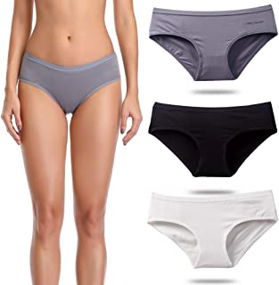 Women's Underwear Cotton Bikini Ladies Panties Low Rise with Gift Bag Braguitas