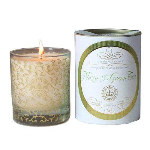 KEW Vintage Glas Candle Duftkerze, Yuzu & Grüner Tee