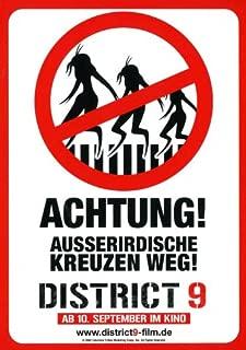 District 9 - 27 x 40 Movie Poster