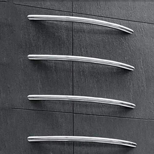 FMOGE Calentador de Toallas, Calentador de Toallas Baño montado en la Pared Acero Inoxidable 304 Seguridad Ahorro de energía Calentador de Toallas eléctrico para...