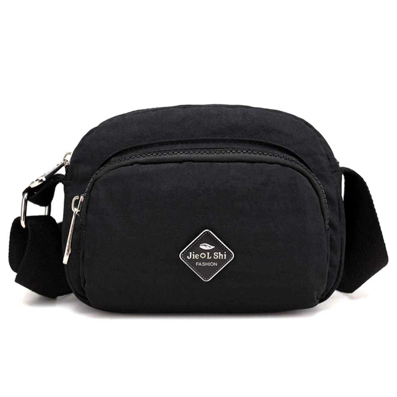 持つ上回るドールTRAVELER-ウエストバッグ女性パック女性ベルトバッグ黒の幾何学的なウエストパック胸電話ポーチ