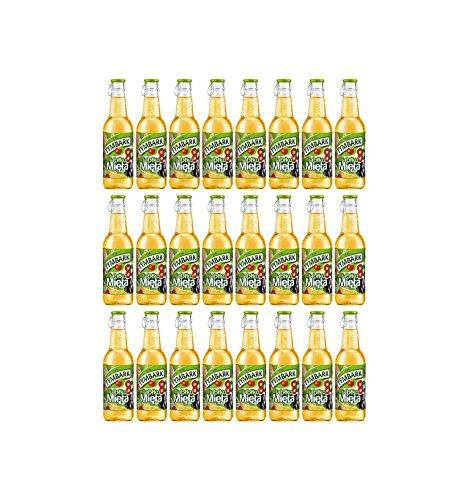 Tymbark Apfel Minze Erfrischungsgetränk 24 Flaschen je 250ml