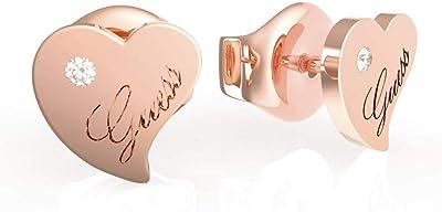 orecchini donna gioielli Guess Queen Of Heart trendy cod. JUBE79017JW