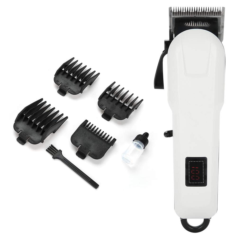 Ranking TOP2 Albuquerque Mall Electric Hair Clipper Professional Ultra-quiet Rechargeable Hai