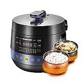 KOUPA Olla a presión eléctrica 6 en 1, Olla de cocción Lenta programable, Olla arrocera, vaporera, salteado, Yogurt y Calentador | 5 L | 11 Programas de un Toque