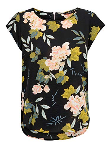 camicia donna kocca ONLY Printed Short Sleeved Top - Canottiera Donna