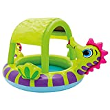 Intex 57110 Piscina hinchable caballito de mar, 114 litros, Multicolor, 188 x...