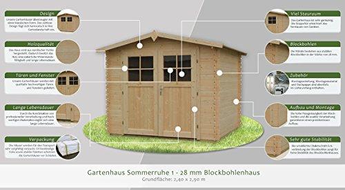 Gartenhaus Sommerruhe