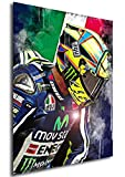 Instabuy Poster - Sport - Moto GP - Valentino Rossi Variant A4 30x21