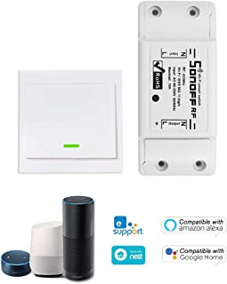 Festnight 1 Sonoff RF Switch WiFi RF compatibel 433 MHz compatibel met Alexa pour Google Home Commutateur sans draad 10A /...