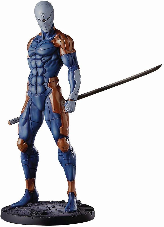Entrega directa y rápida de fábrica GECCO GECCO GECCO Estatua Cyborg Ninja,30cm. Metal Gear Solid  promociones de equipo