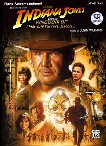 Indiana Jones and the Kingdom of the Crystal Skull Instrumental Solos: Piano Acc., Book & CD (Pop Instrumental Solo)