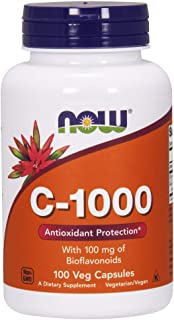 Now Foods C-1000-100 Veg Capsules