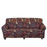 Tobgreatey Funda de sofá colorida, india, tótem duradera, para...