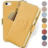iPhone SE ケース [第2世代] iPhone8 / 7/ 6s/ 6 手帳型 ケース かわいい 笑顔 iPhone8 ケース……