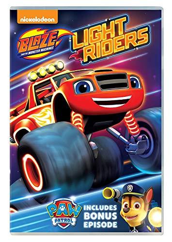 Blaze und die Monster Maschinen: Light Riders. DVD