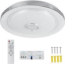 Homyl Luzes LED Music de teto com controle remoto estrelas para sala de estar da lavanderia no corredor - 15,8 polegadas 7...