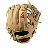 Wilson A700 Baseball Glove Series, Blonde, 11.5 Inch, Left (Right Hand Throw)